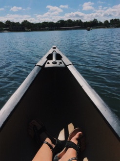 Canoeing @ the lake